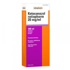 KETOCONAZOL RATIOPHARM 20 mg/ml shampoo 100 ml
